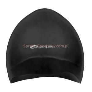 Czepek silikonowy damski - Seagull - czarny