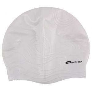 Czepek silikonowy Shoal biały